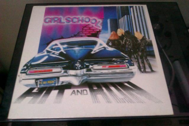 "GIRLSCHOOL  ""Hit and Run""   (1981) Imag0115"