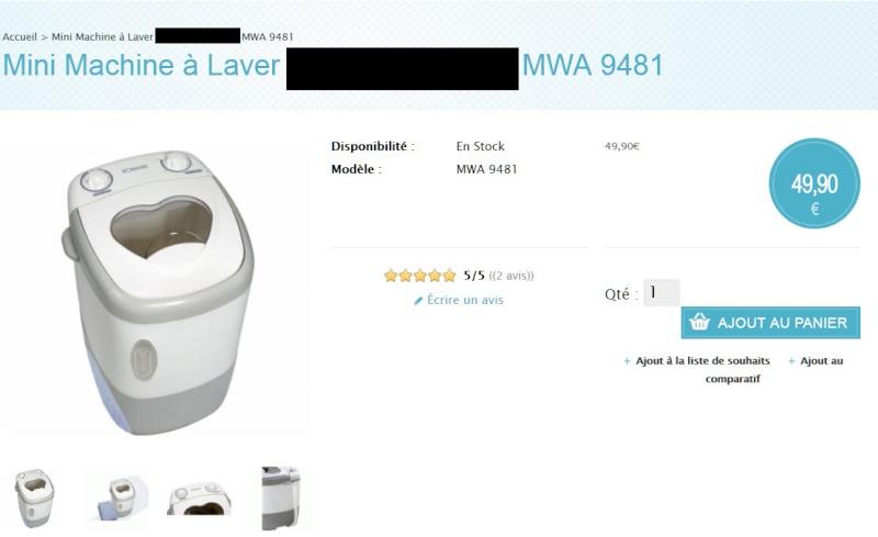 machine à laver au Maroc Mini_m10