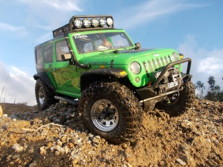 Axial scx10 Jeep Wrangler Unlimited Rubicon KIT - Página 4 1_322010