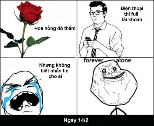 Chùm ảnh chế hài hước ngày Valentine 22-72110