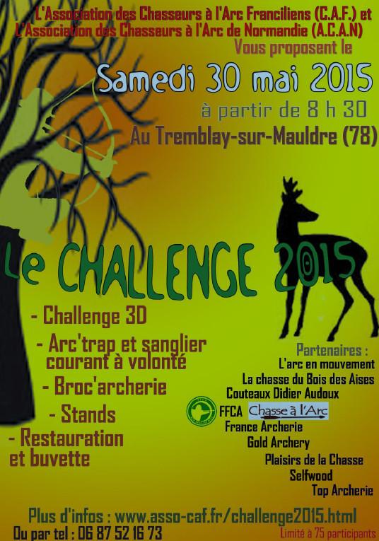 Challenge CAf/ACAN 2015-010