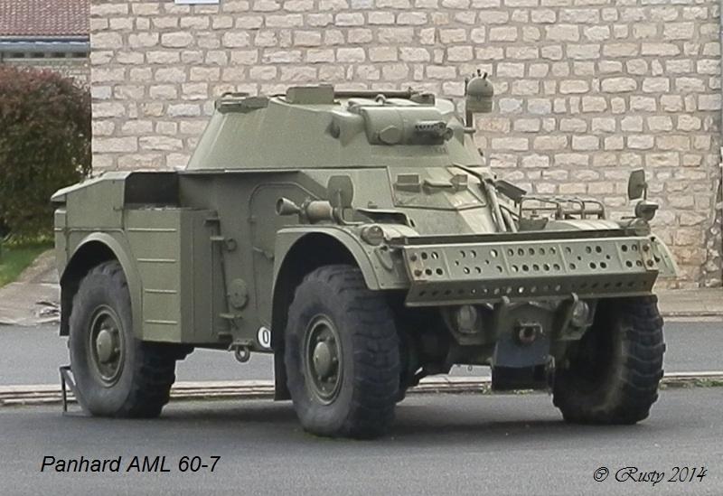 Panhard AML-60  - 5eme Régiment de Chasseurs - Alpes 1966 [Scratch 1/20] Pc011010