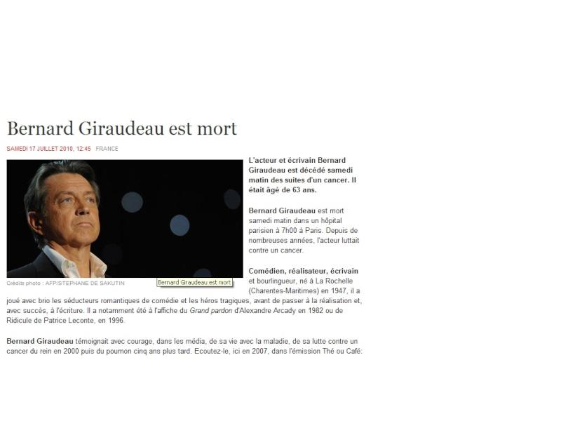R.I.P Bernard Giraudeau Bernar10