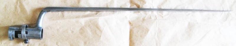 Différences entre les baïonnettes AN IX, 1822 et 1847 et leur fabrication. 377_0015