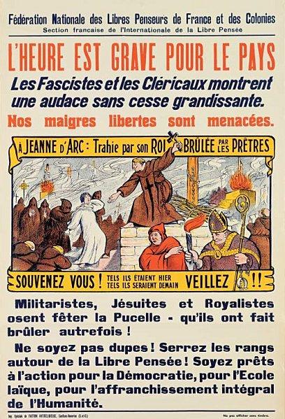 Sixième centenaire de la naissance de Jeanne d'Arc. Affich10