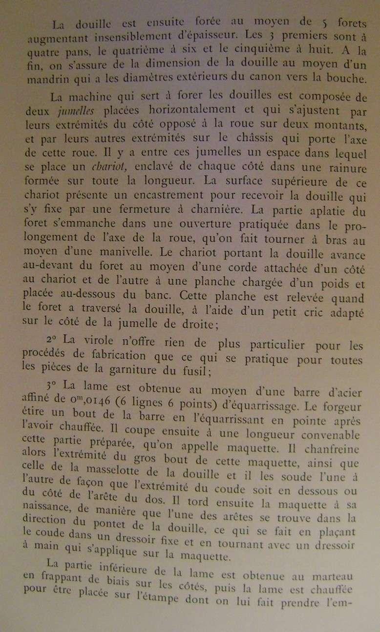 Différences entre les baïonnettes AN IX, 1822 et 1847 et leur fabrication. Dsc06831