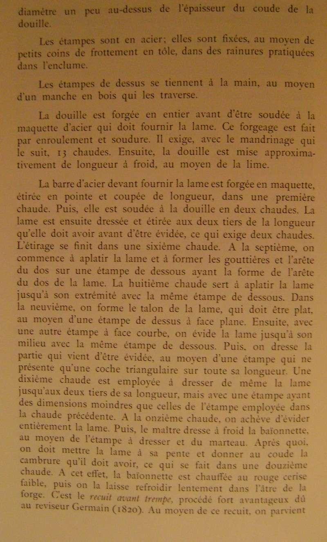 Différences entre les baïonnettes AN IX, 1822 et 1847 et leur fabrication. Dsc06834