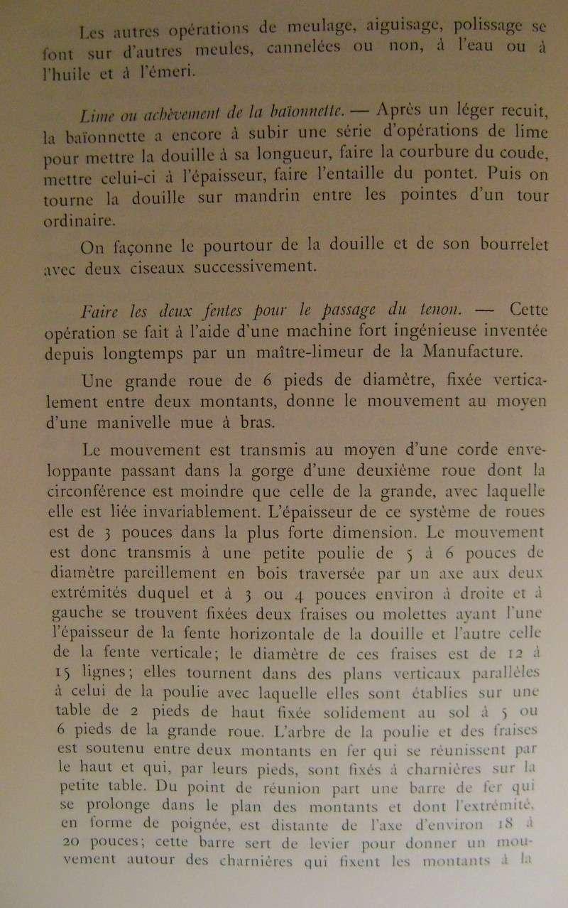 Différences entre les baïonnettes AN IX, 1822 et 1847 et leur fabrication. Dsc06838