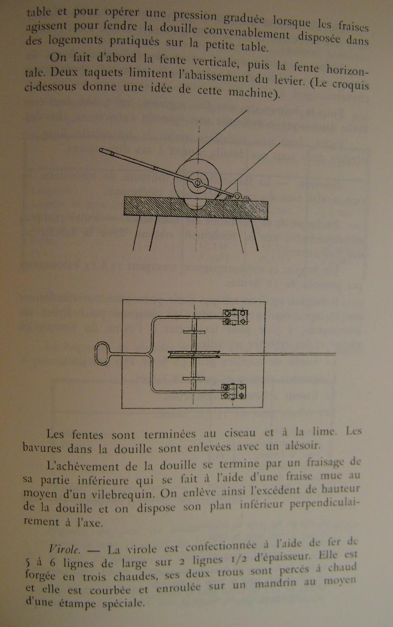 Différences entre les baïonnettes AN IX, 1822 et 1847 et leur fabrication. Dsc06839
