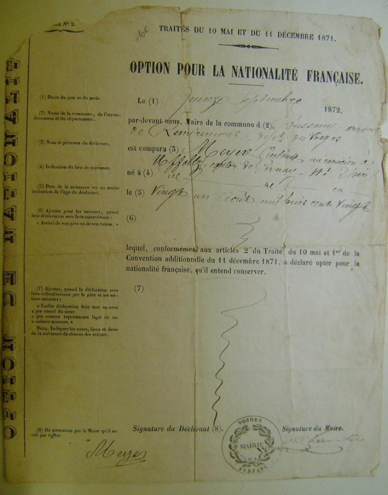 Option pour la nationalité française. Dsc07155