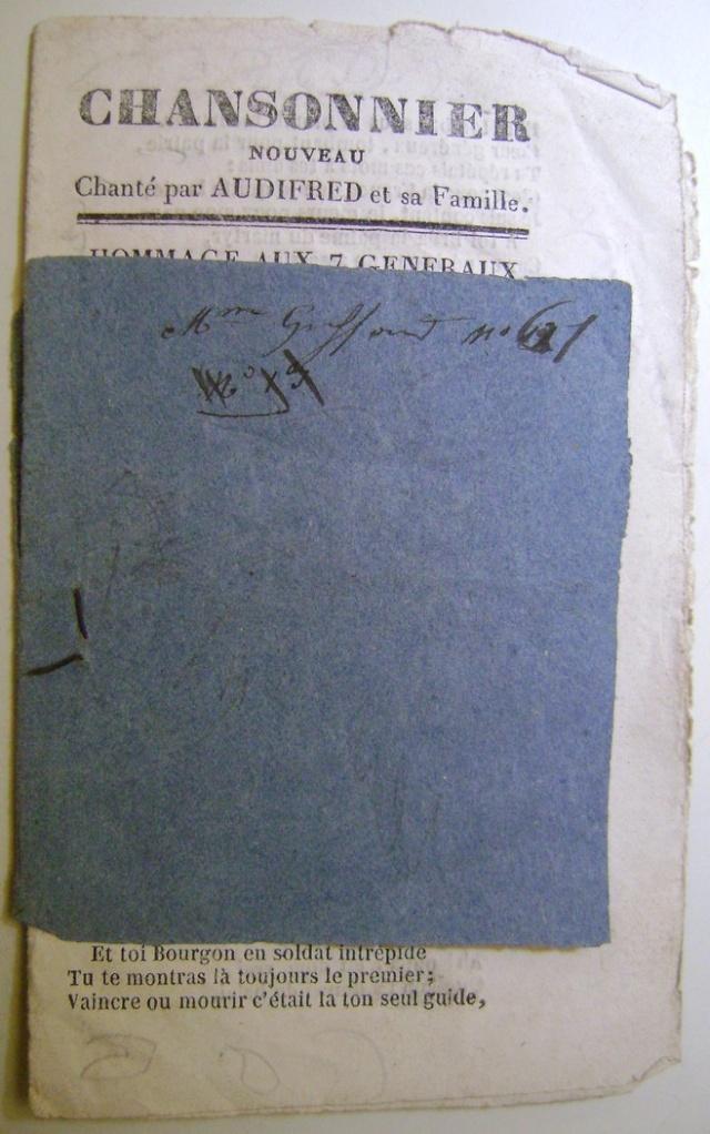 Chansons de la révolution de 1848. Dsc07156