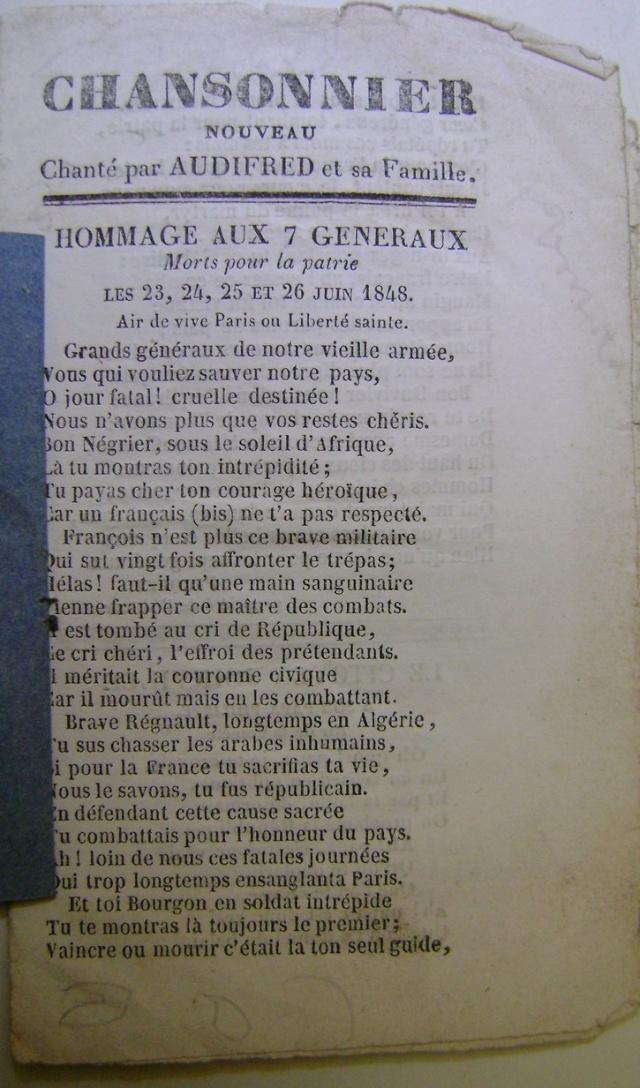 Chansons de la révolution de 1848. Dsc07157