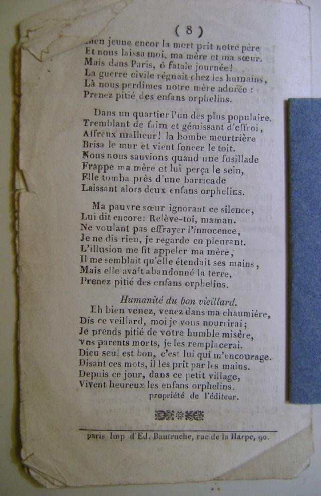 Chansons de la révolution de 1848. Dsc07161