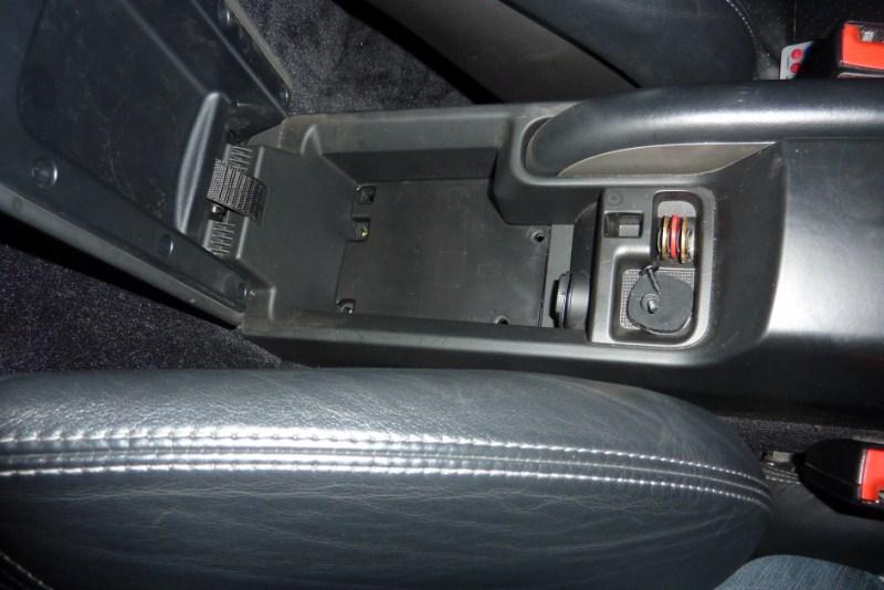 demontage console centrale P1020610