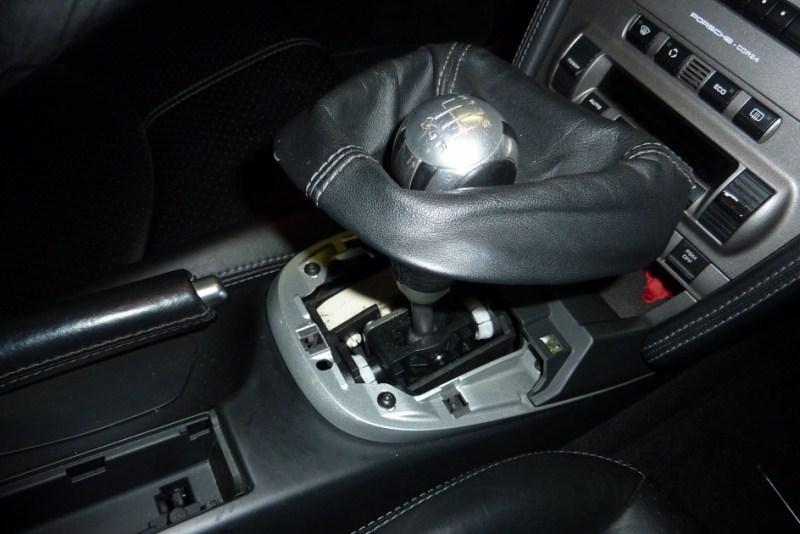 demontage console centrale P1020612