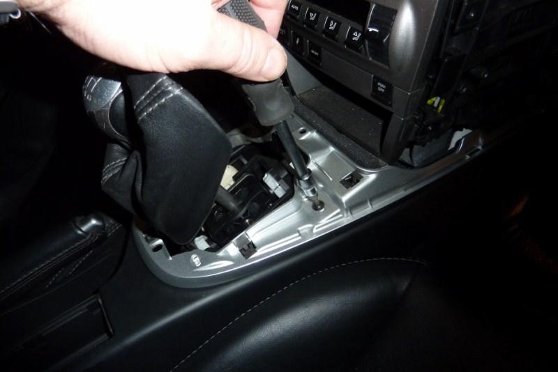 demontage console centrale P1020619