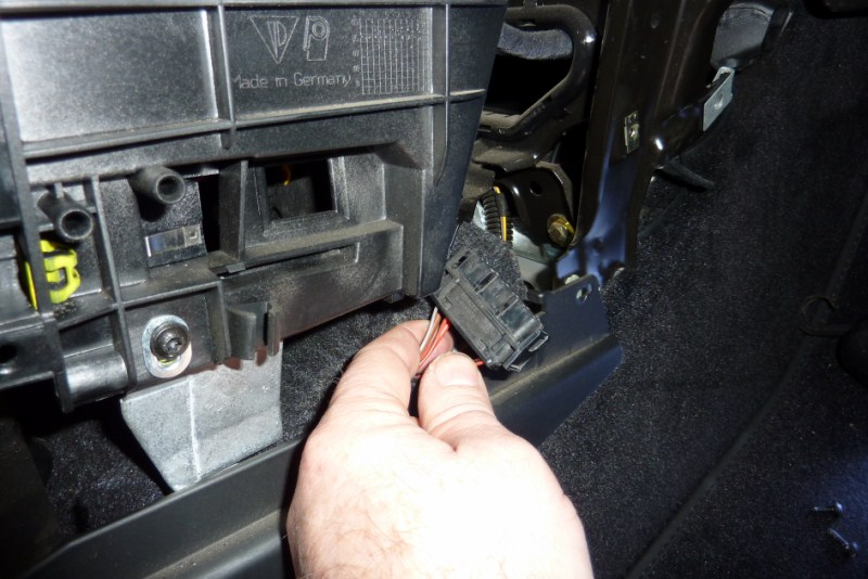 demontage console centrale P1020718