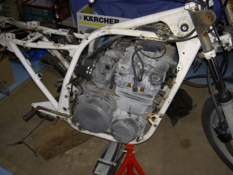 Restauration d'une z650 110