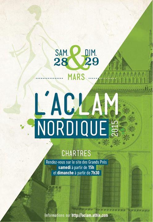 Epreuve du marche Nordique Tour en Eure et Loire Affich10
