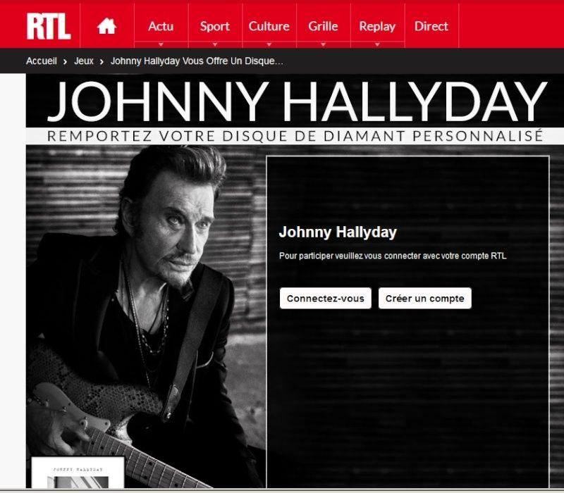 Johnny Hallyday vous offre un disque de diamant à votre nom Captur64