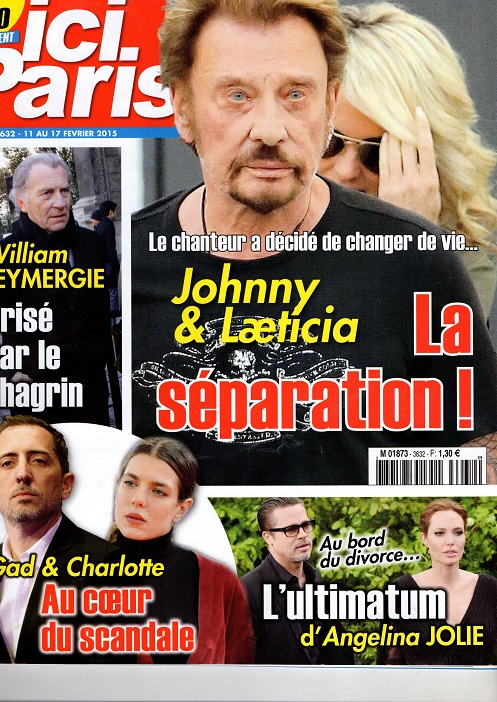 Ici Paris 11/17 fev 2015..Johnny et laeticia la separation Img48110