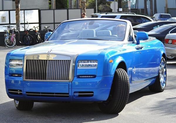 Johnny et sa  Rolls Royce bleue.. Johnny10