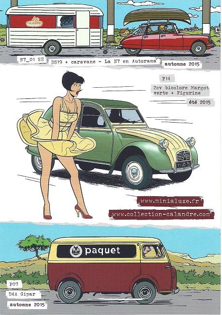 Des Minialuxe pour la Collection Calandre des Editions Paquet  Numyri18