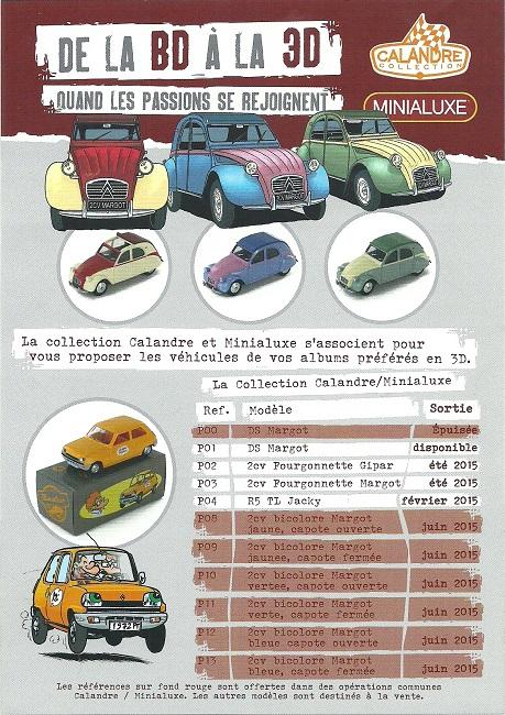 Des Minialuxe pour la Collection Calandre des Editions Paquet  Numyri19