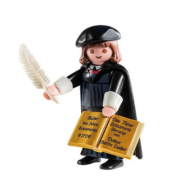 Luther en Playmobil Reform10