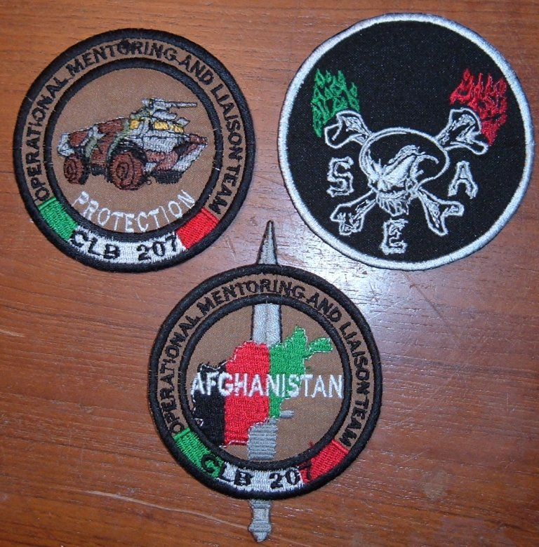 Some assorted Italian patches from former ISAF Dscf4612