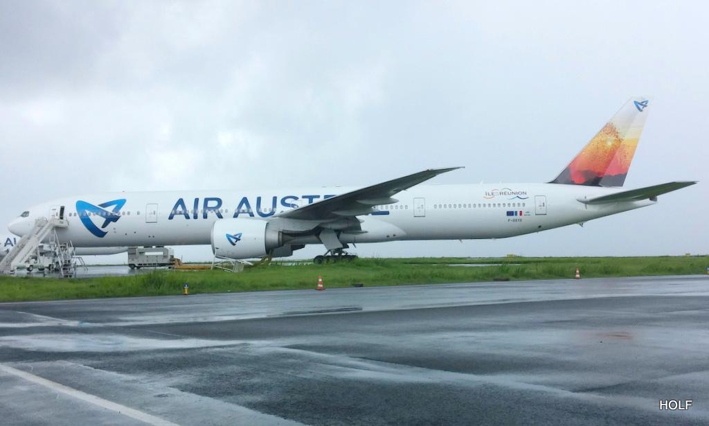 nouvelle livrée d'Air Austral à La Réunion 20150310