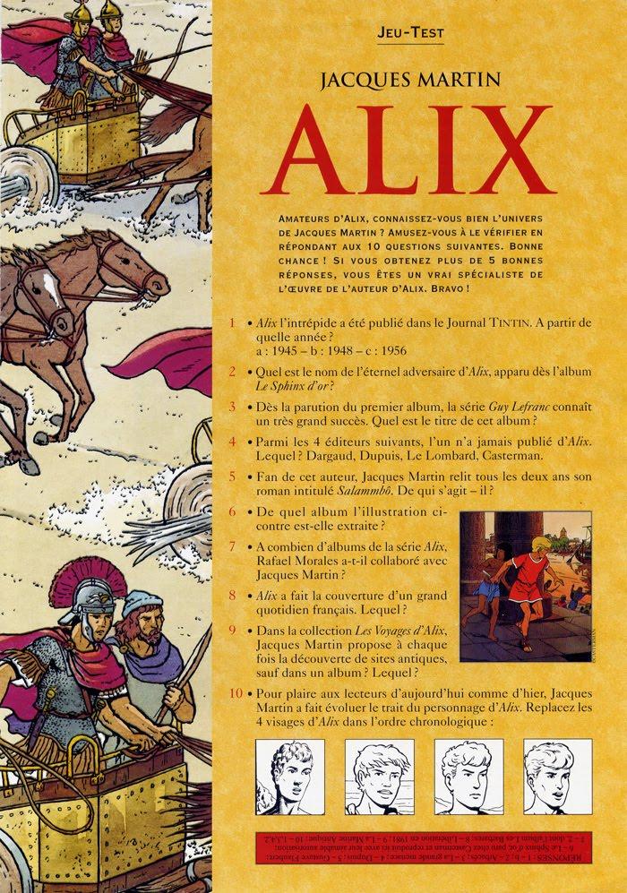 Les légions perdues Alix-j10