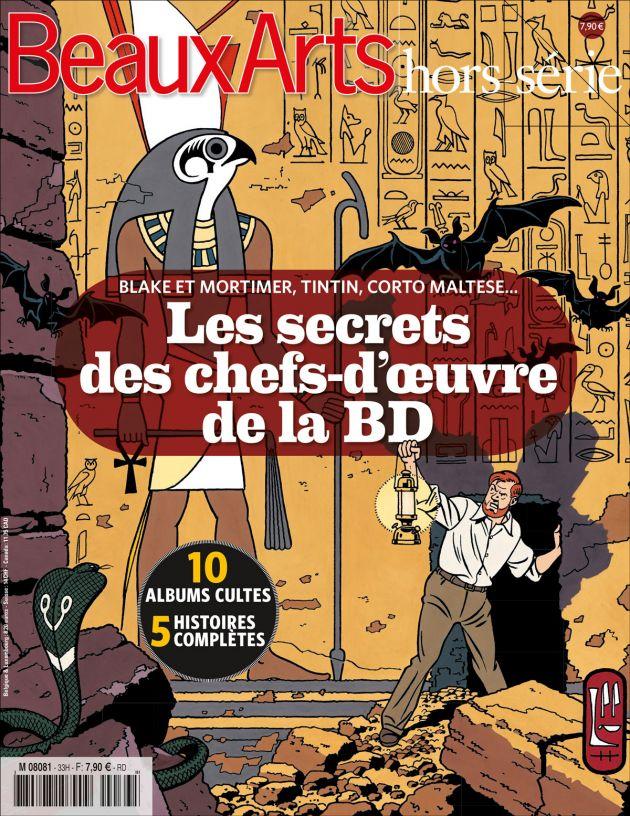"""""""Beaux Arts hors série"""" consacré à la BD Lessec10"""