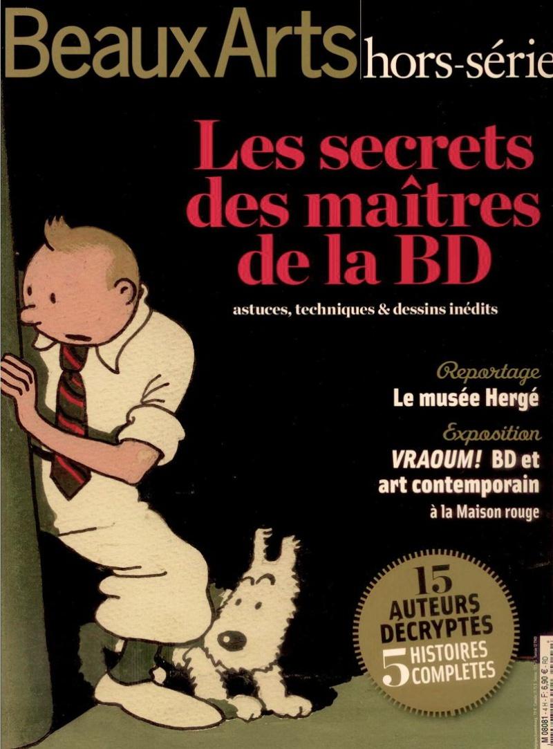 """""""Beaux Arts hors série"""" consacré à la BD Secret10"""