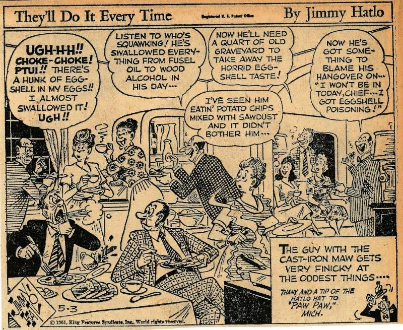 Les contradictions du genre humain ou le génie comique de Jimmy Hatlo - Page 2 Hatlo210