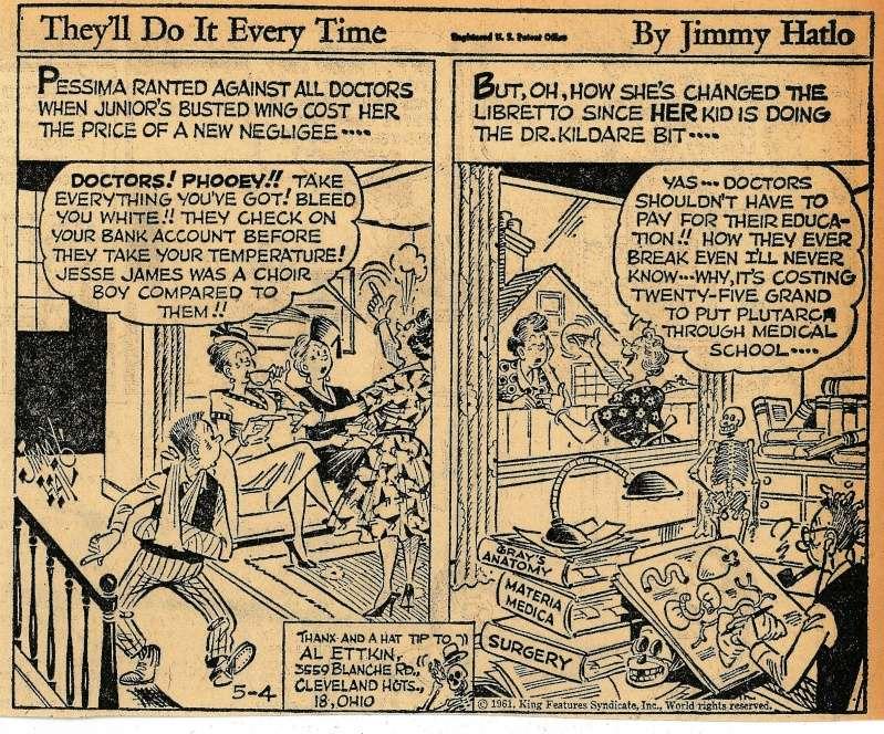 Les contradictions du genre humain ou le génie comique de Jimmy Hatlo - Page 2 Hatlo310
