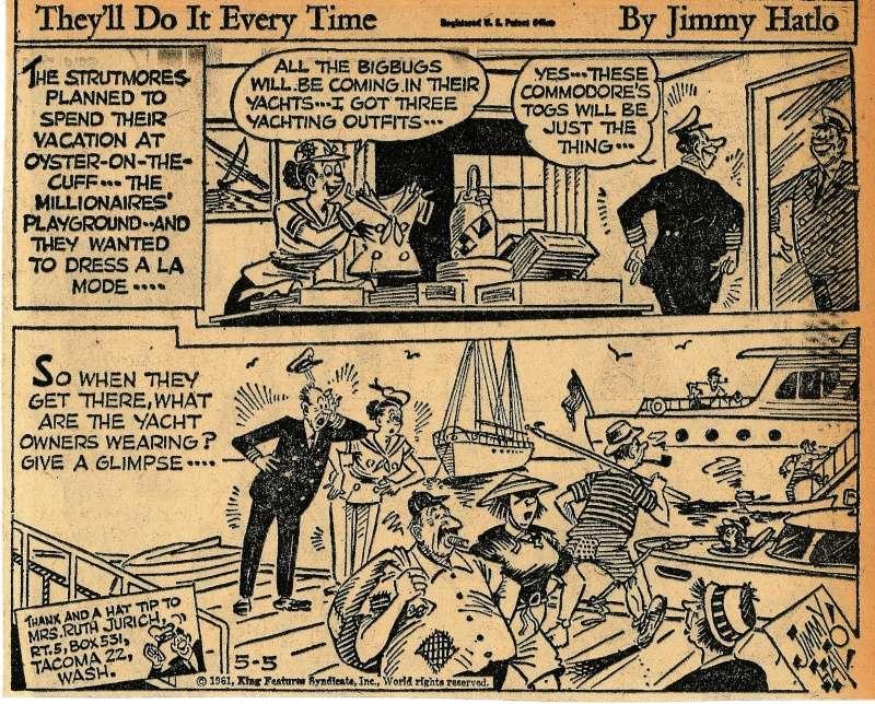 Les contradictions du genre humain ou le génie comique de Jimmy Hatlo - Page 2 Hatlo411