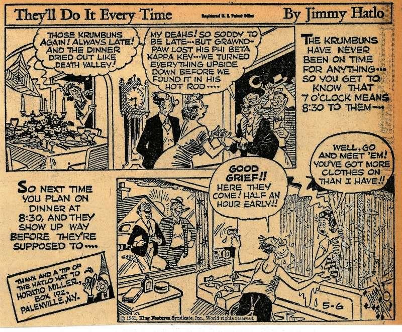 Les contradictions du genre humain ou le génie comique de Jimmy Hatlo - Page 2 Hatlo510