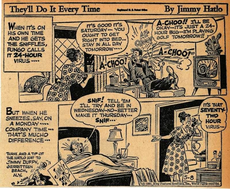 Les contradictions du genre humain ou le génie comique de Jimmy Hatlo - Page 2 Hatlo610