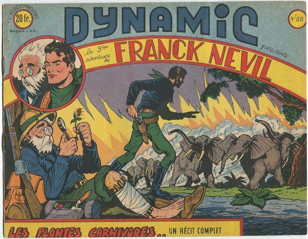 Les plantes carnivores .. Dynamic n°88 - Franck Nevil 1952 Dynami10
