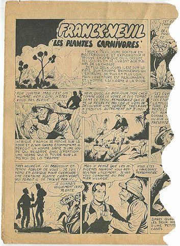 Les plantes carnivores .. Dynamic n°88 - Franck Nevil 1952 Dynami11
