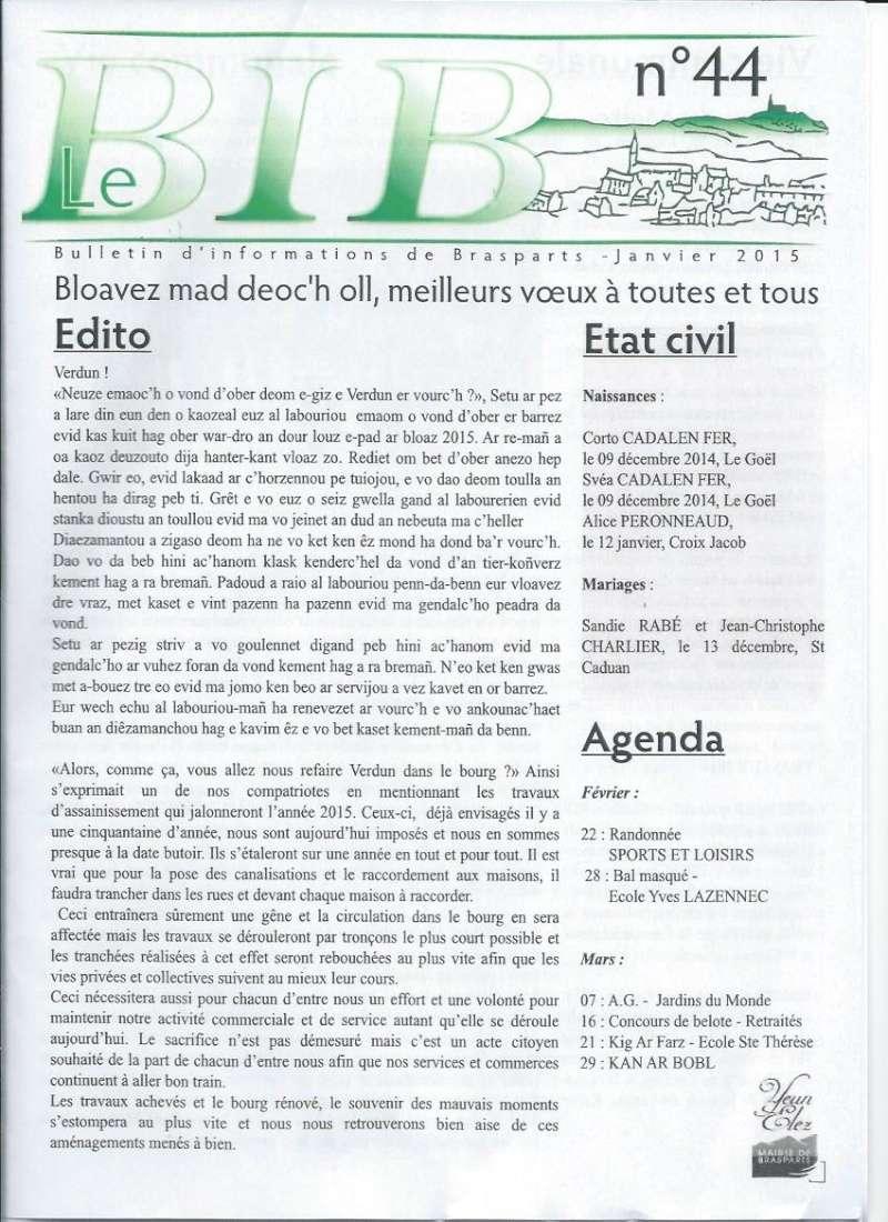Bulletin d'information de Brasparts n°44 0111