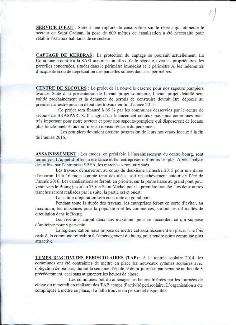 Vœux de M. le Maire de Brasparts 2015 0210