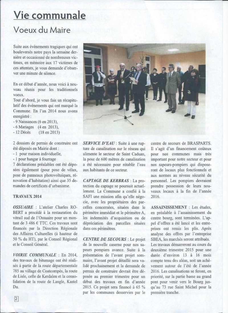 Bulletin d'information de Brasparts n°44 0211