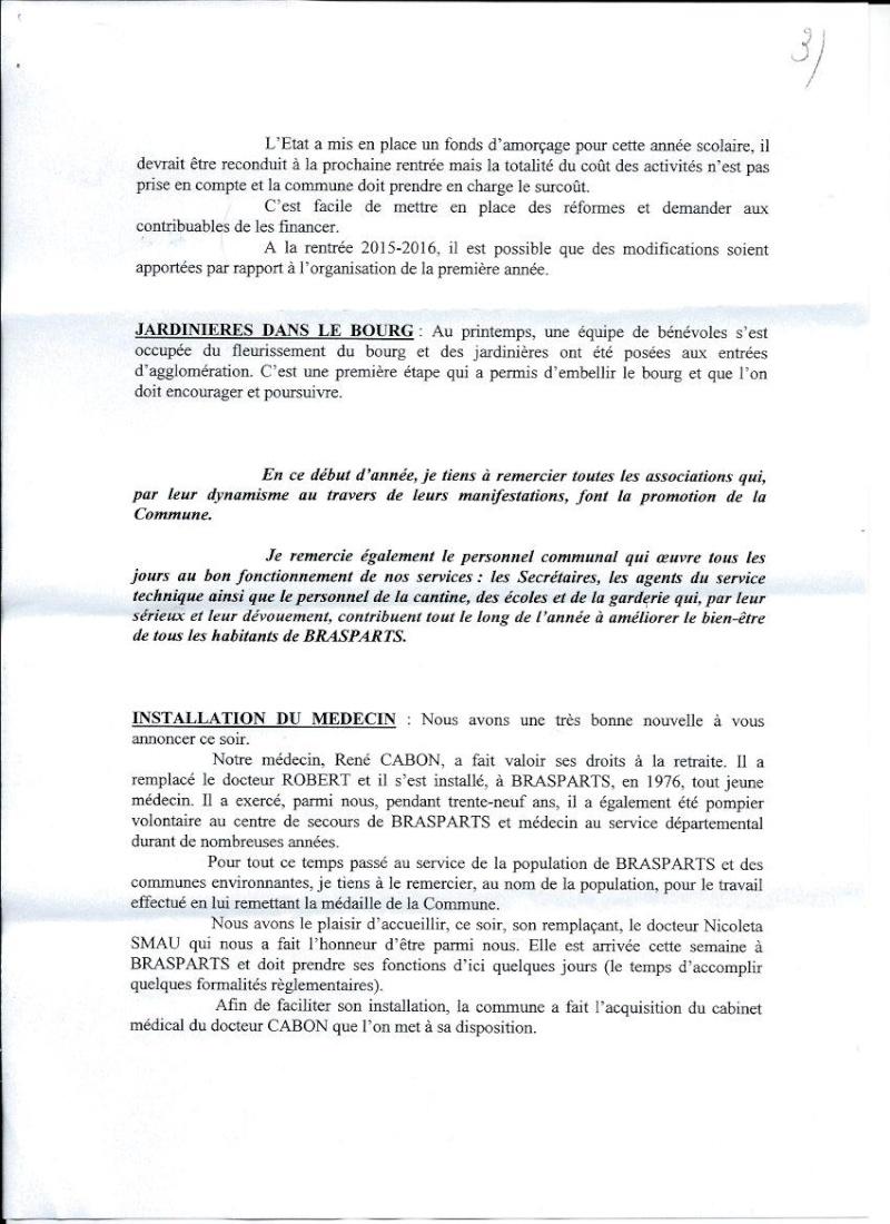Vœux de M. le Maire de Brasparts 2015 0310