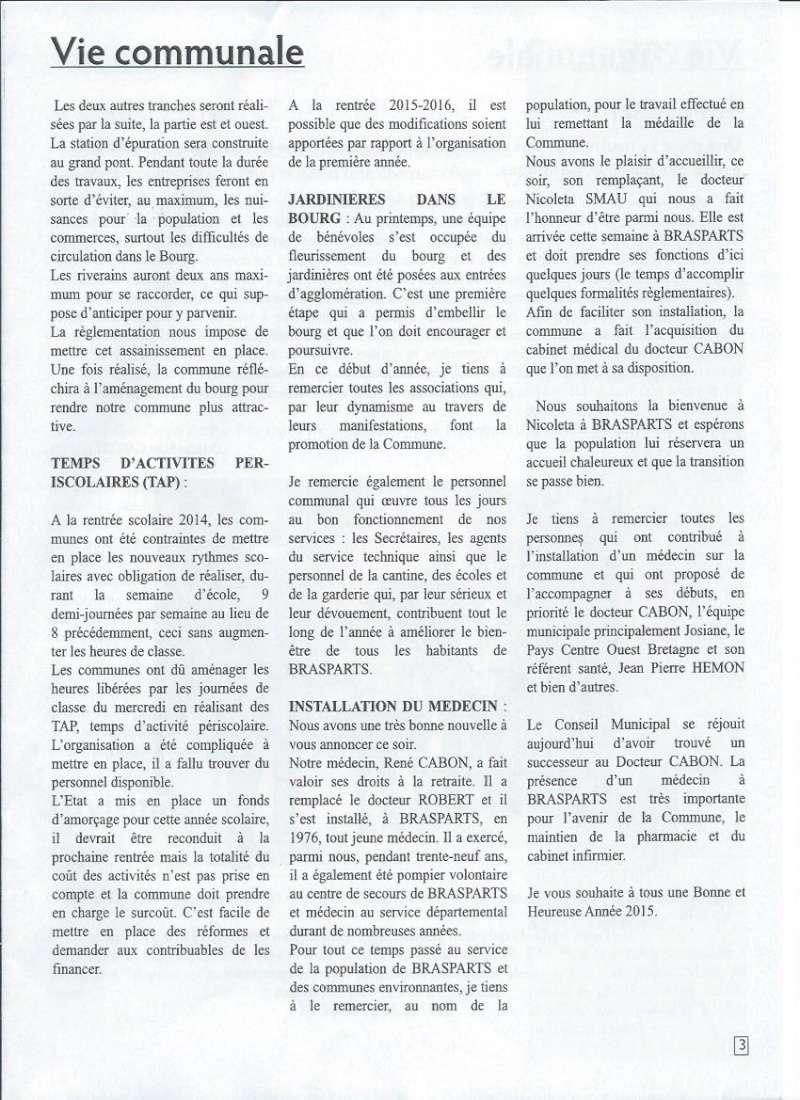 Bulletin d'information de Brasparts n°44 0311