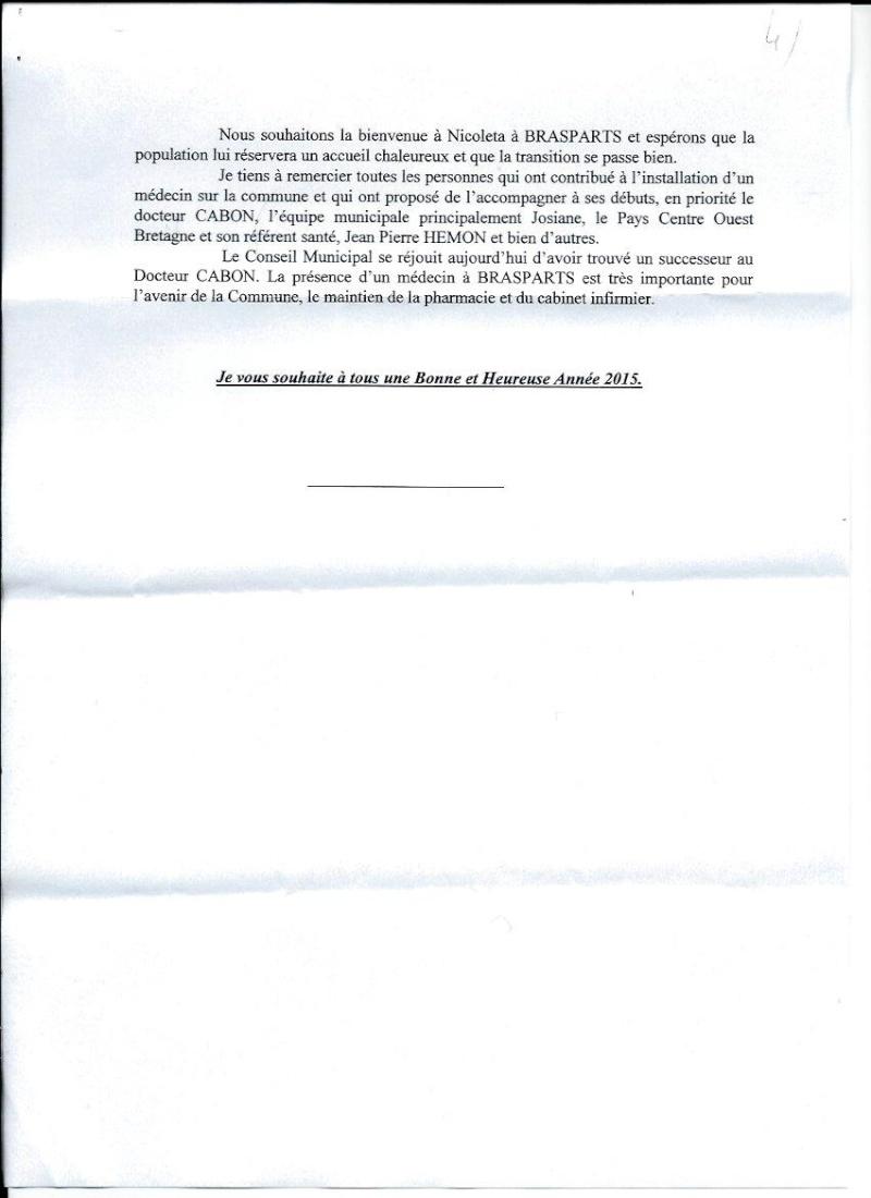 Vœux de M. le Maire de Brasparts 2015 0410