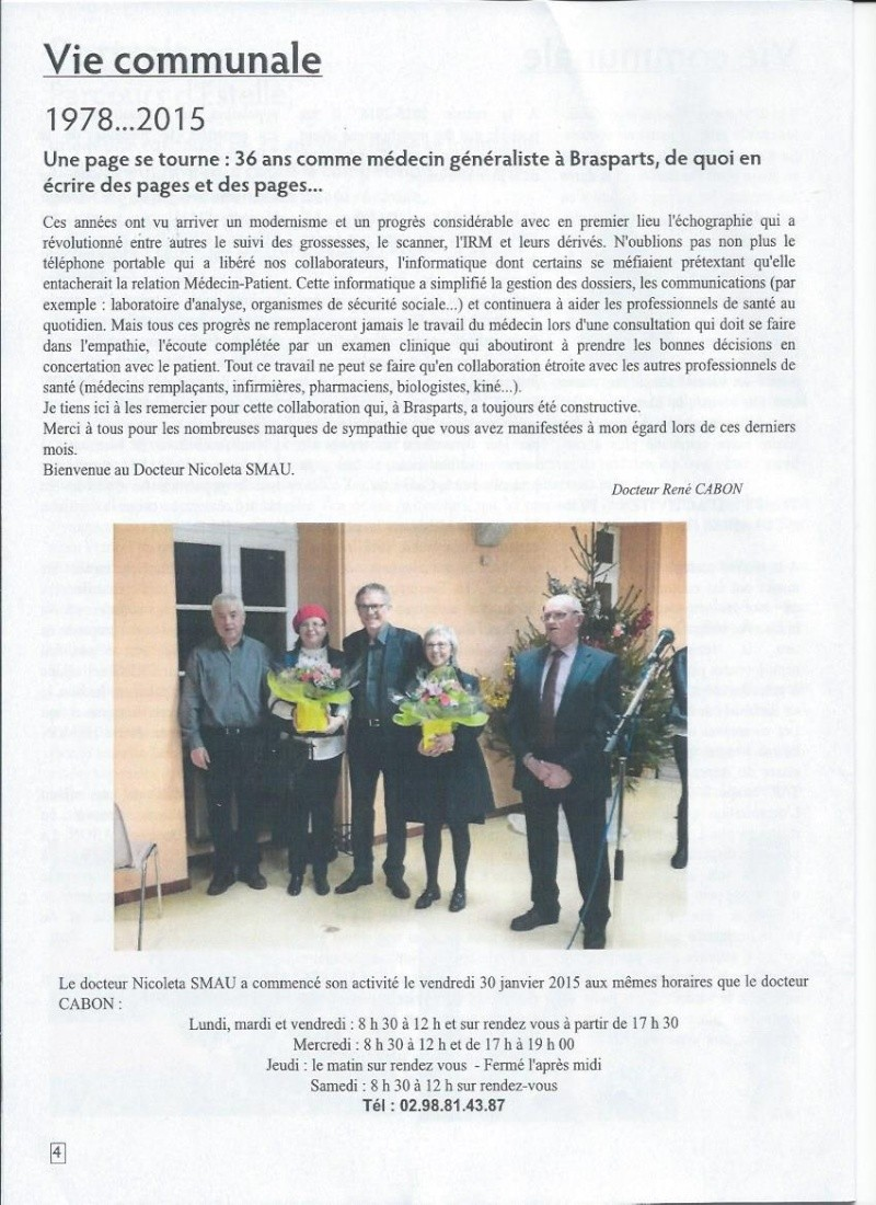 Bulletin d'information de Brasparts n°44 0411