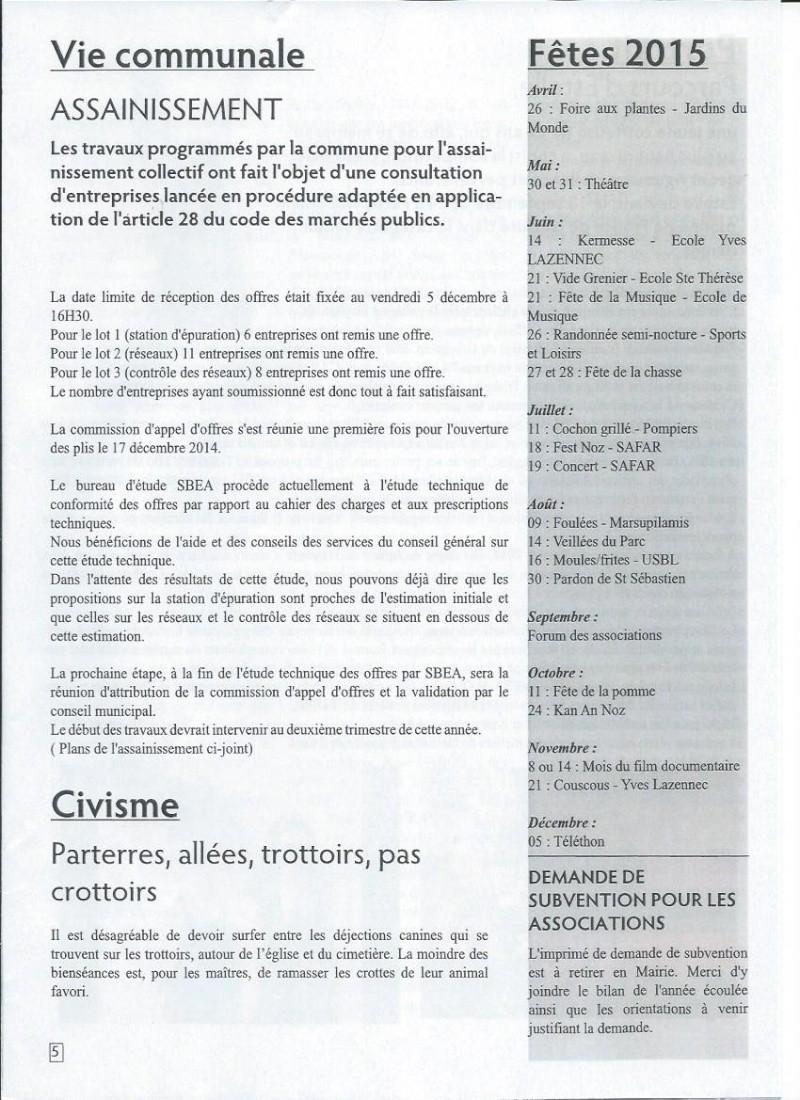 Bulletin d'information de Brasparts n°44 0510