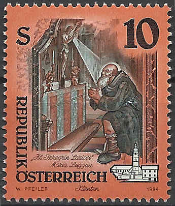 """Freimarkenserie """"Kunstwerke aus Stiften und Klöstern"""" 1000_a10"""